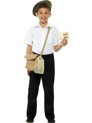 Boys and Girls Fancy Dress | World War II Evacuee Instant Fancy Dress Kit